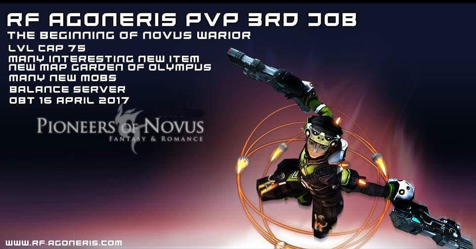 RF AGONERIS PVP (3rd Job) Open beta 16 April Gan. Check This Out 😊