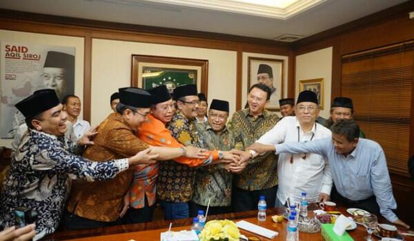 PBNU dan Ahok-Djarot Jaga Prinsip Islam Nusantara