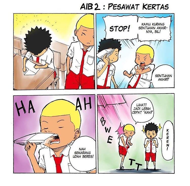 13 Komik strip 'aib masa sekolah' ini serunya bikin kamu bernostalgia
