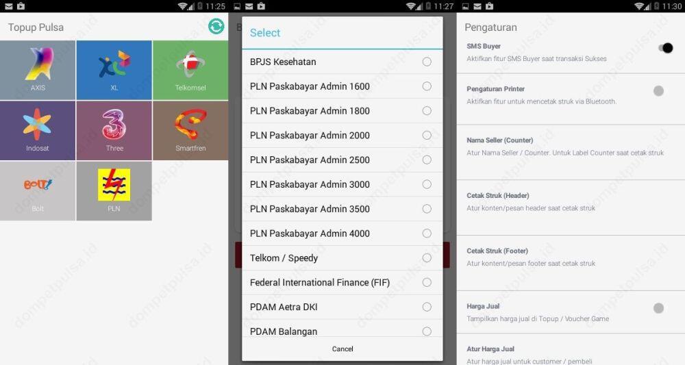 Dompet Pulsa, Aplikasi Bisnis Agen Jual Pulsa & PPOB @Jakarta