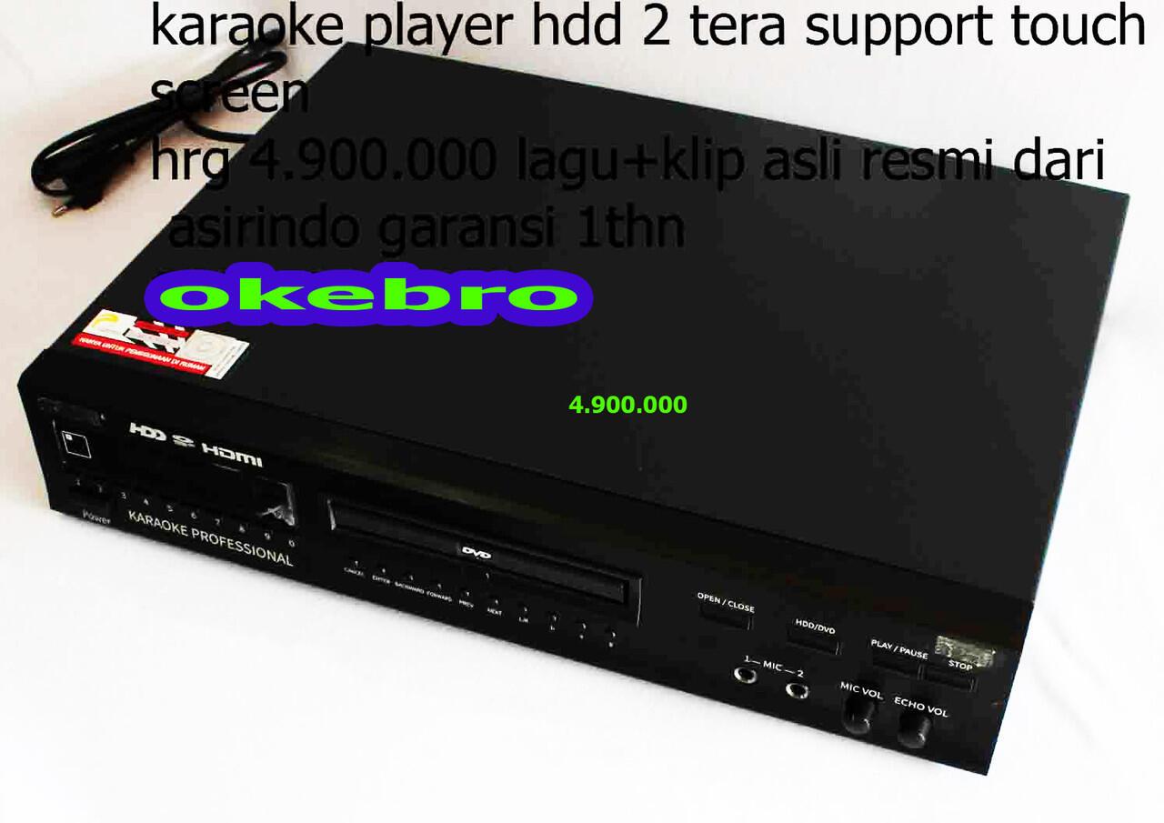 Terjual Player Karaoke 1tb 285jt Speaker Sub Mic Stand