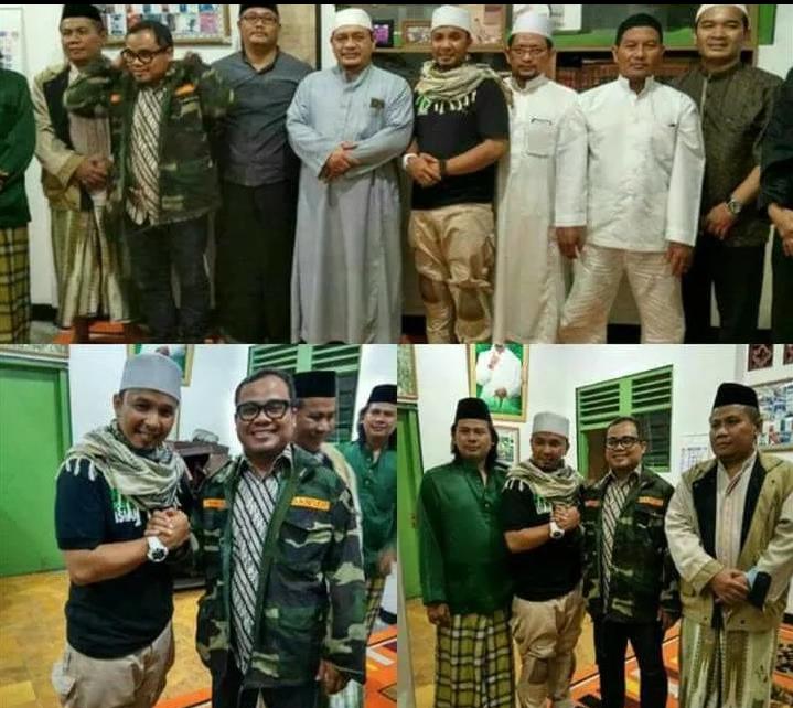 "Fadly Asrul Dilantik 09 Oktober 2018: AHOK ""TEWAS"" TOKOH BANSER NU DATANGI KETUA DPW FPI DKI"