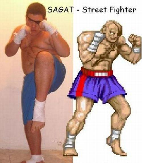 Street Fighter Cosplay Costumes Wigs Props and