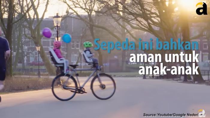 Wow! Sepeda Buatan Google Ini Mampu Berjalan Sendiri Gans