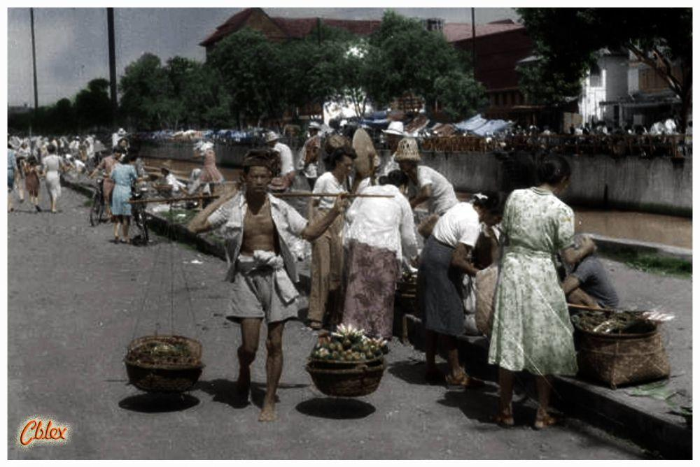 10 Potret lawas pedagang Indonesia, bukti nenek moyang jago berniaga