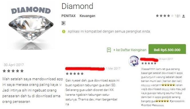 Seperti Inilah Tipe Orang Indonesia Saat Komen di Google Playstore