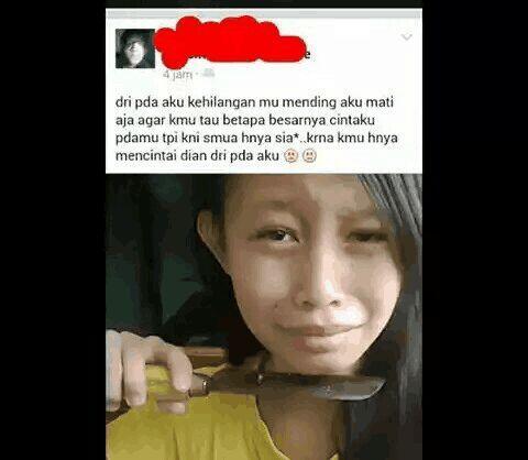 Status FB Yang Bisa Bikin Ente Ikut Sedih !