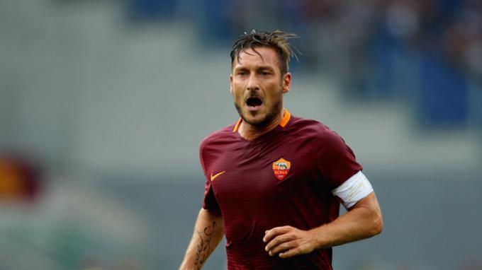 Sergio Ramos bilang Francesco Totti Pemain yang Hebat