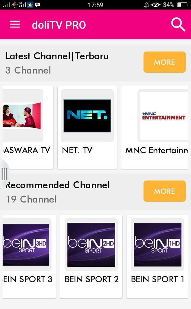Ini Gan Aplikasi Android Online Tv Paling Dicari Dolitv Kaskus