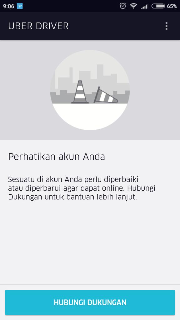 Tidak bisa login uber driver | KASKUS