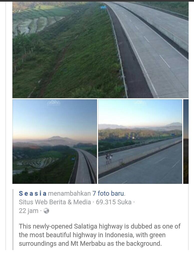 Netizen Malaysia Puji Pembangunan Tol Trans-Jawa