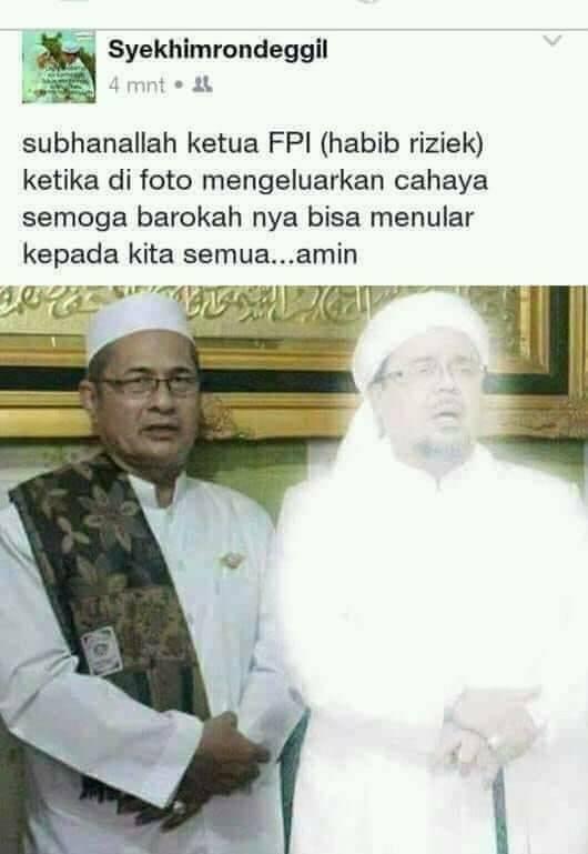 Masuk Islam Setelah Berkali-kali Mimpi Ketemu Habib Rizieq Syihab