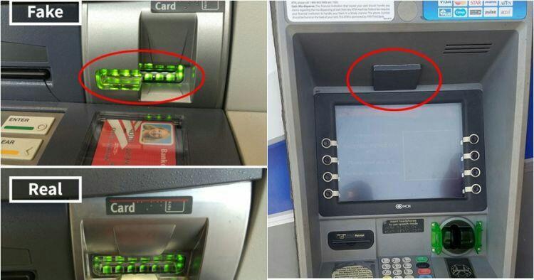 7 Foto Modus Kejahatan Yang Sering Terjadi di ATM, Waspadalah!