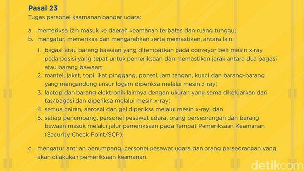 Kronologi Penumpang Tampar Petugas Avsec Bandara Manado