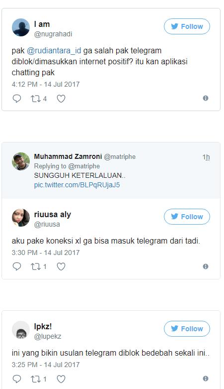 Telegram Diblokir, Netizen Teriak