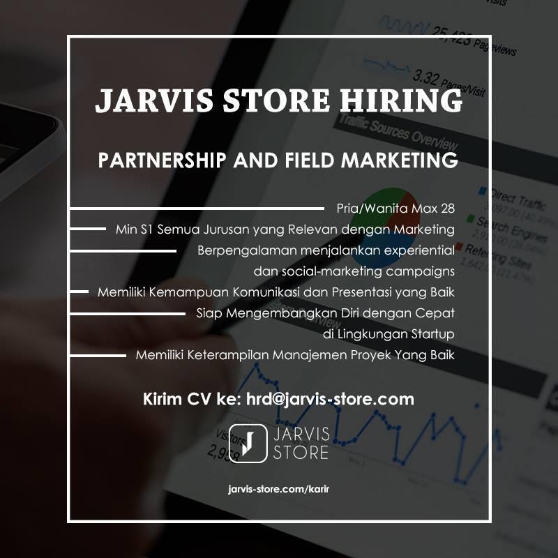 Partnership and Field Marketing - Lowongan Kerja Startup IT Bandung