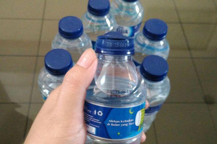 Soal Tutup Botol yang Rusak, Pihak Aqua Angkat Bicara