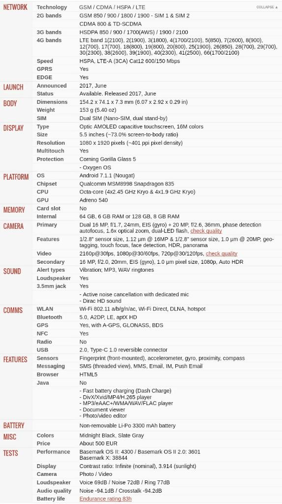 [Waiting Lounge] OnePlus 5 | Never Settle