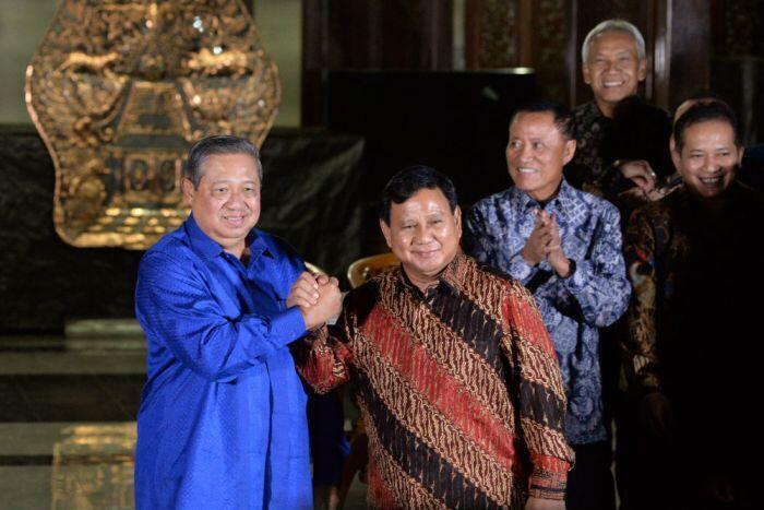 Prabowo-SBY, bersatu menolak UU Pemilu