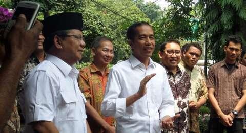 Jokowi Heran Prabowo Sebut Presidential Treshold Lelucon Politik