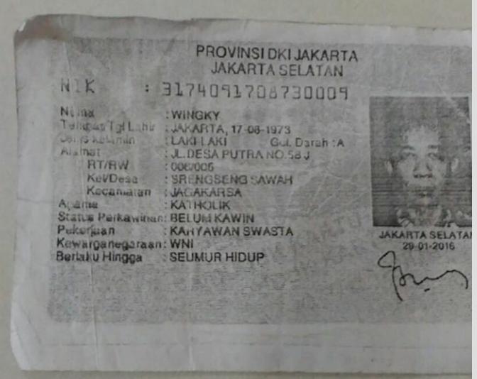DICARI: Info Keberadaan Tukang Hutang Yg Bernama Wingky!! [FOTO Terlampir]