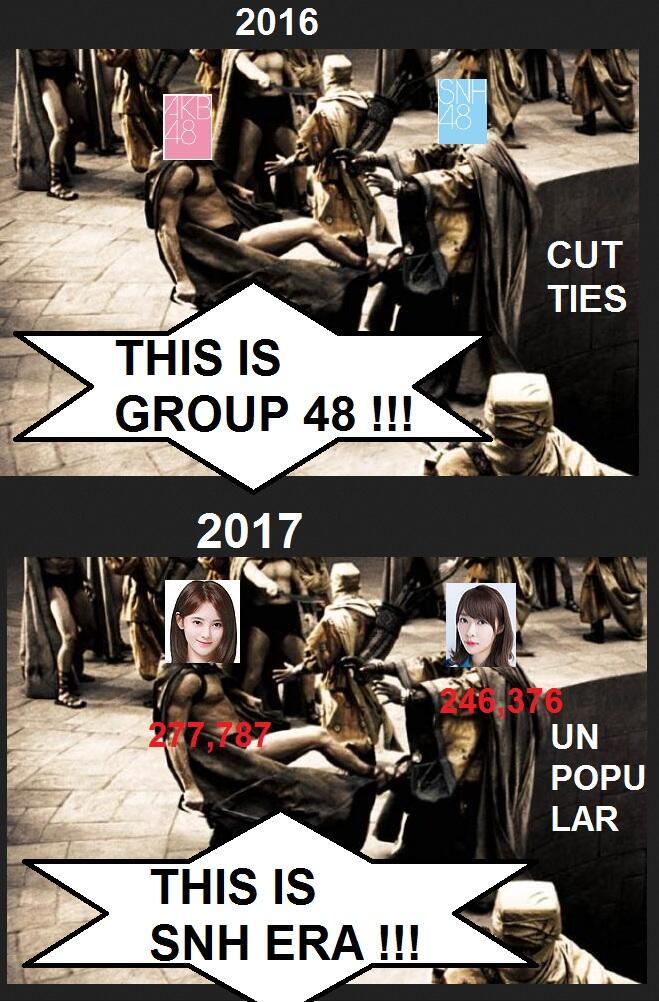 Kebangkitan bagi SNH48, Kejatuhan bagi JKT48