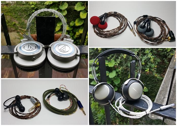 DIY Interconnect & Recabling Headphone KEREHORE !!!