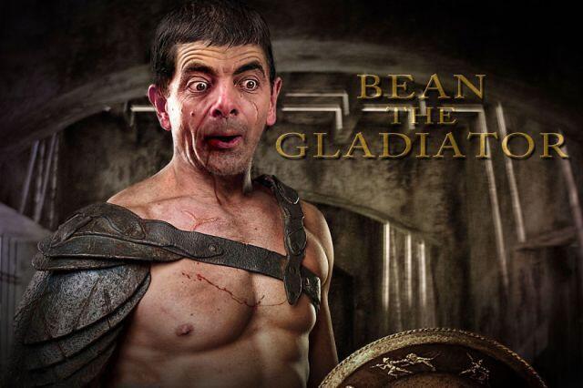 Gambar ini membuktikan bahwa Mr,Bean bisa jadi siapa saja