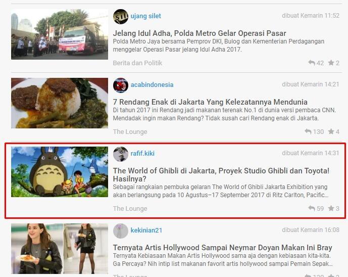 The World of Ghibli di Jakarta, Proyek Studio Ghibli dan