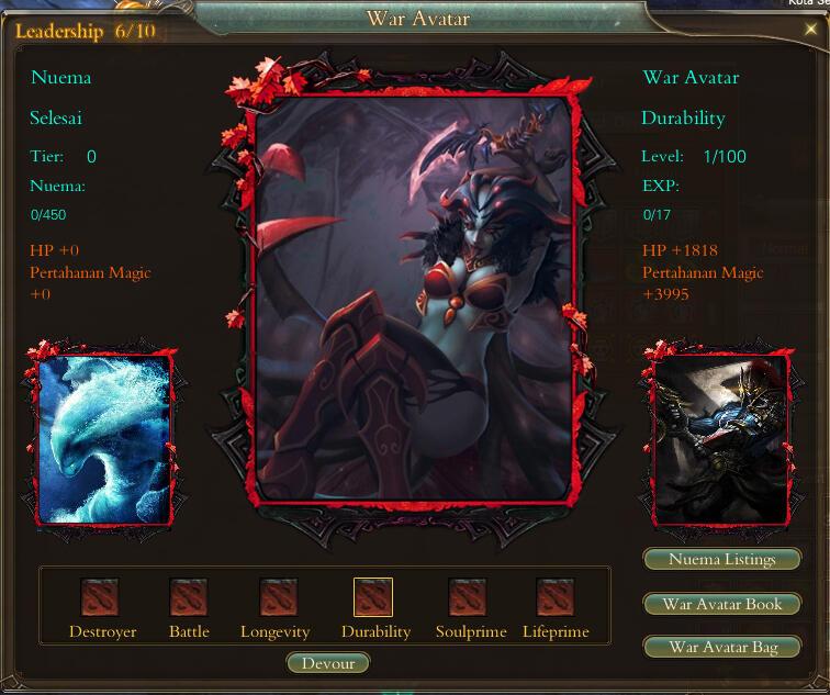 Perfect World Emperor New War Avatar Open Beta 26 Agustus