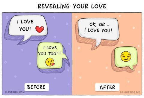Ilustrasi Kocak Bedanya Kehidupan Sebelum vs Sesudah Menikah