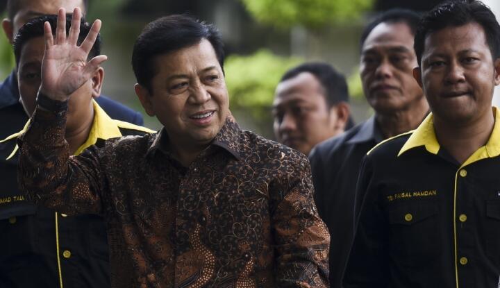 Dalam Setahun DPR Dapat 4.173 Surat Pengaduan, Papa Novanto Sehat?