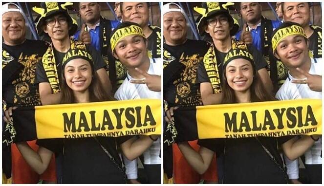 Inilah Para Supporter Cantik Indonesia dan Malaysia