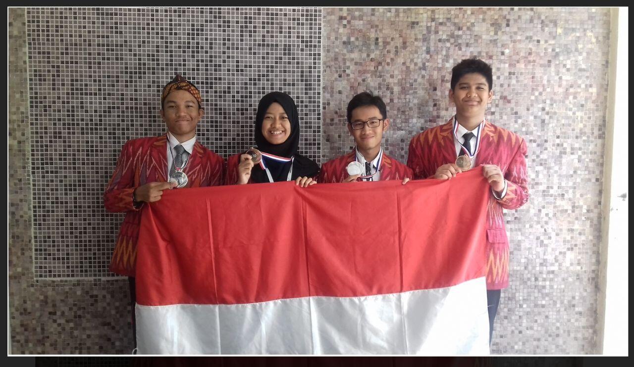 Delegasi perwakilan Indonesia di IESO 2017 | kaskus