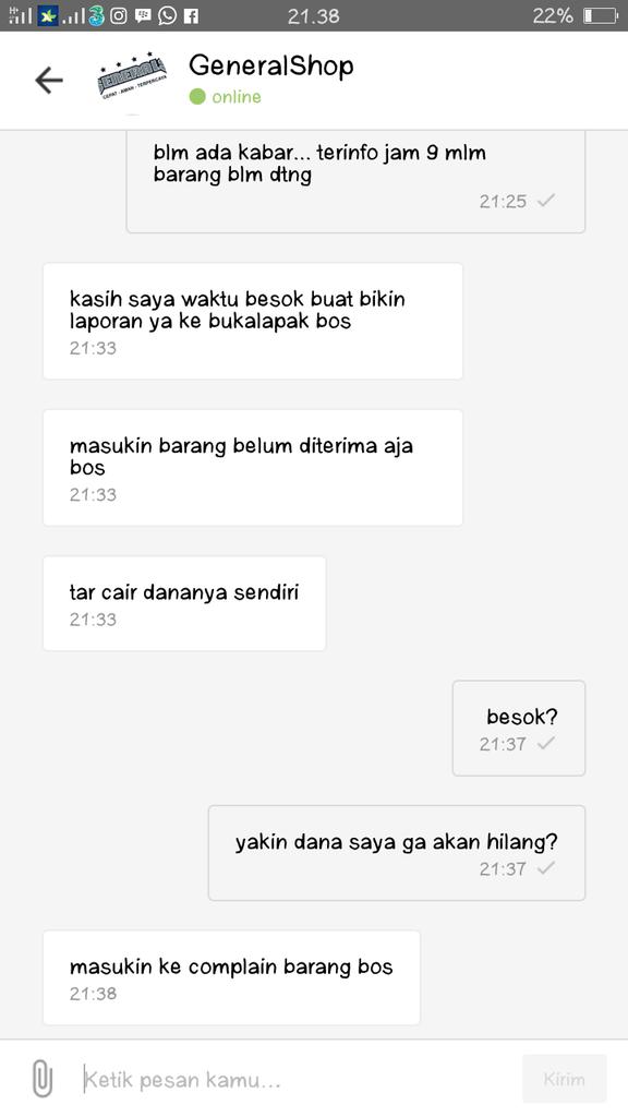 DRIVER GO-SEND MEMBAWA KABUR BARANG PESANAN SAYA