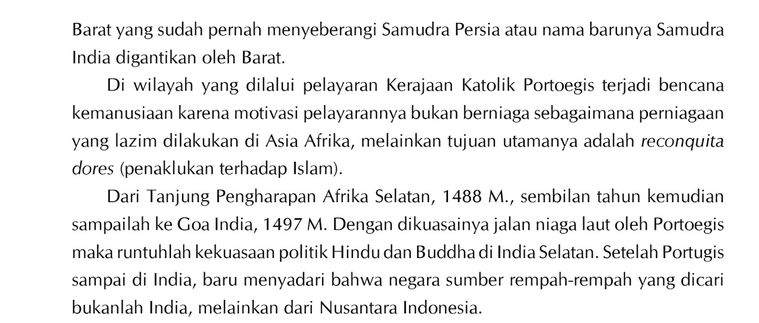 Sejarah Singkat Masa Penjajahan Indonesia Yang Masih Kurang Paham