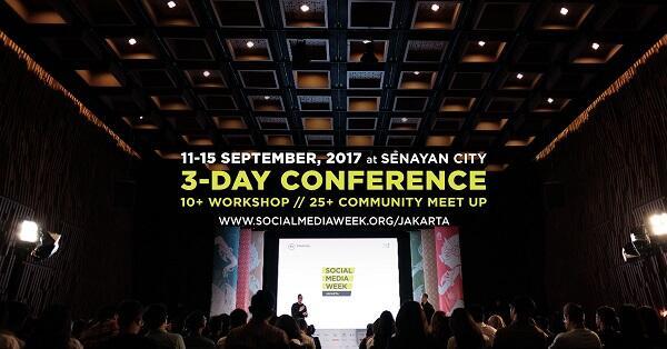 3 Hari Lagi, Social Media Week Jakarta 2017 Akan Digelar GanSist