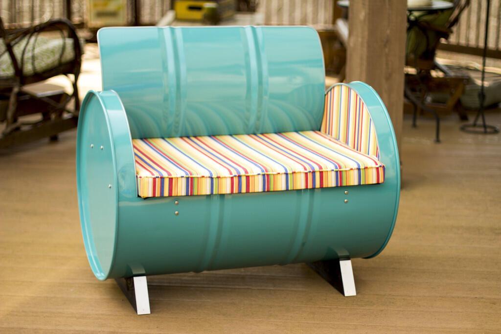 drum furniture. Furniture Unik Dari Drum Ini, Bisa Jadi Koleksi Baru Kamu