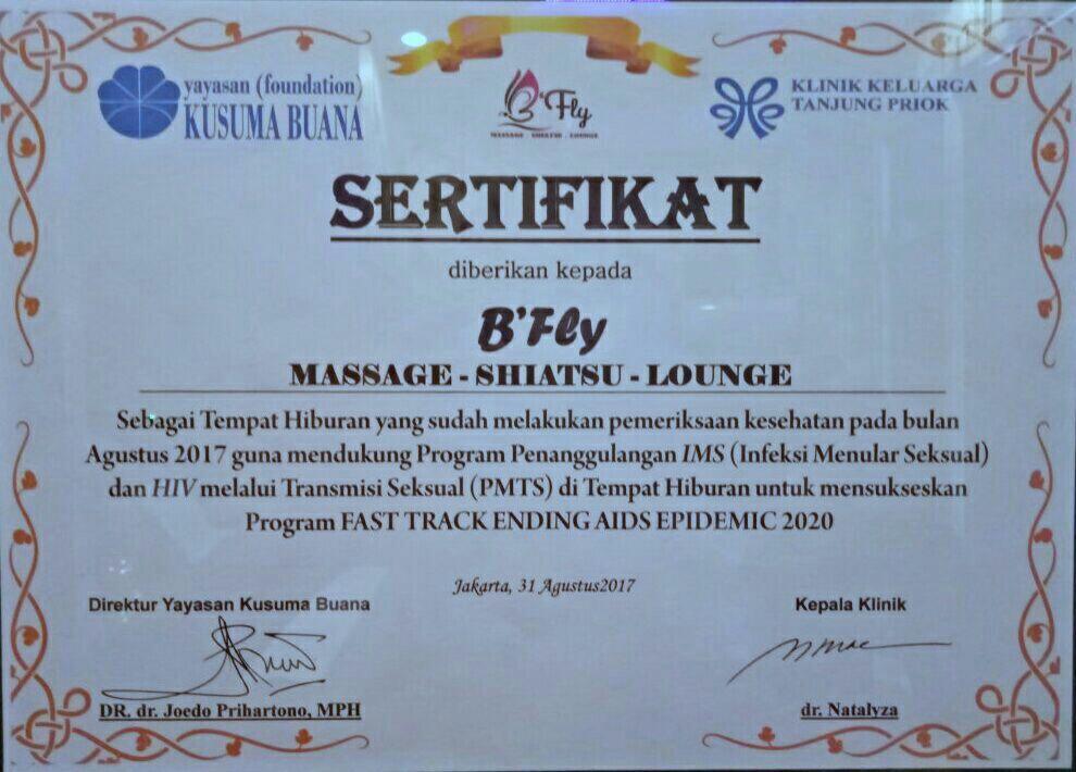 BFLY MASSAGE & LOUNGE (Ruko Thematik, Gading Serpong - Tangerang) - Part 1