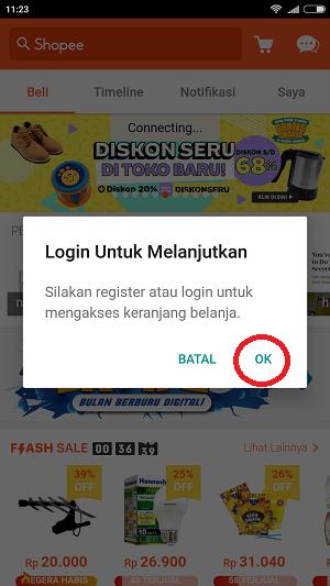 Cara Daftar Shopee di Android