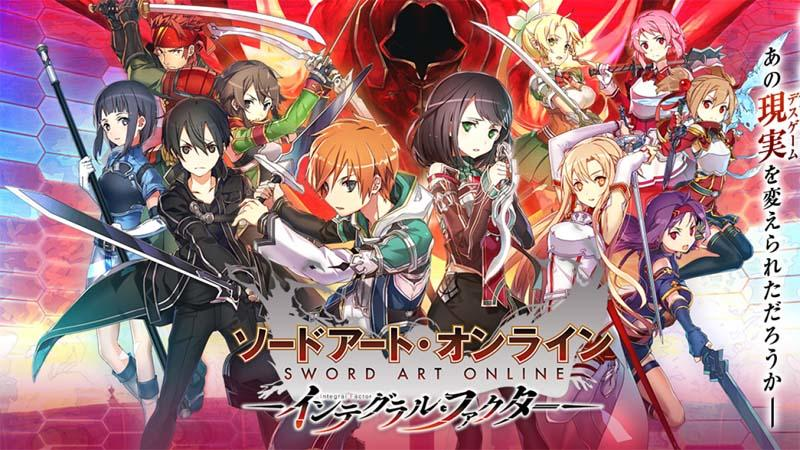 [Android/IOS] SWORD ART ONLINE INTEGRAL FACTOR [JP]