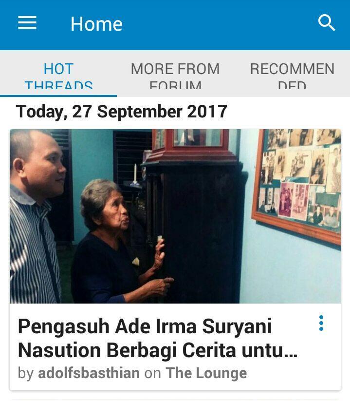 Pengasuh Ade Irma Suryani Nasution Berbagi Cerita untuk KASKUSer!