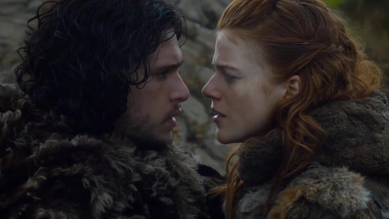 Jon Snow dan Ygritte 'Game of Thrones' Tunangan di Dunia Nyata!