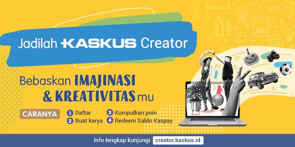 [Kreator Lounge] Tempat Diskusi, Share & Chit-Chat Kaskus Kreator - Part 1
