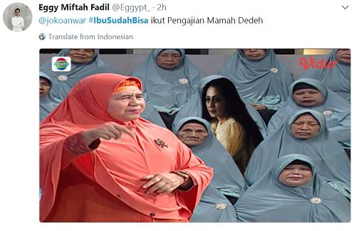 [+PIC] Lagi Viral, Meme #IbuSudahBisa Pengabdi Setan Bikin Ngakak