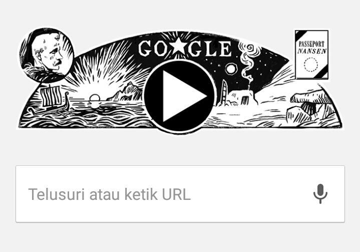 Fridtjof Nansen Di Google Doodle Pelopor Jiwa Pengembara Berkelana