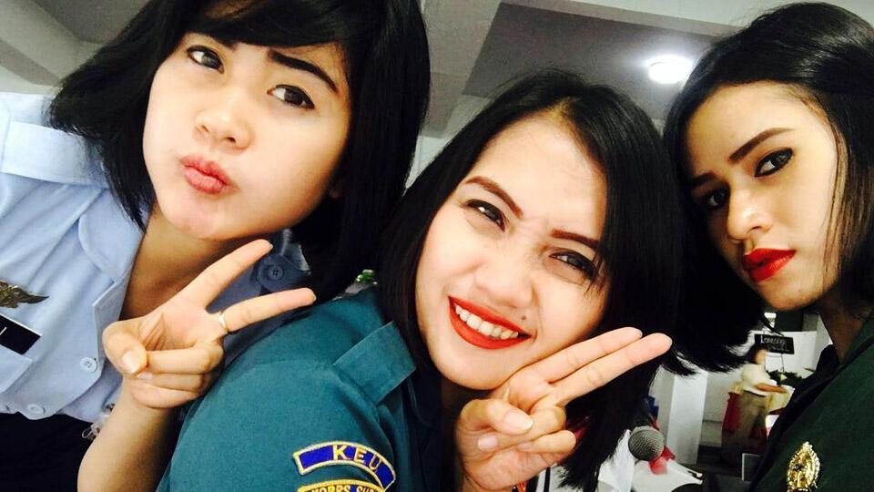 6 Potret Cantik dan Tangguh Tentara Wanita Indonesia