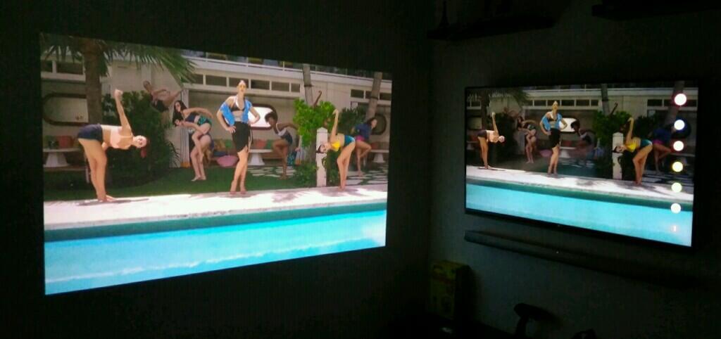 ALL ABOUT ~ Projector Proyektor MINI Buat HOME CINEMA yang BERBIAYA MURAH!! Hemat gan