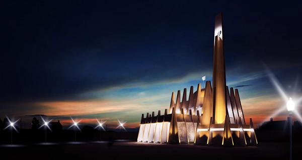 5 Masjid Ini Punya Arsitektur Anti-Mainstream Gan!