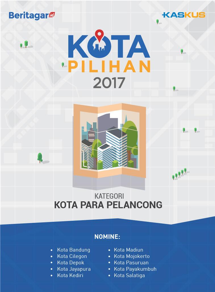 [Kota Pilihan 2017] Nomine Kota Para Pelancong, Pilih Di Sini Gan!